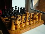 Шахматы деревянные большие СССР, фото №3