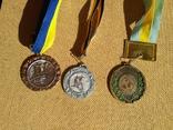 Набор из 3шт. медалей футбол, фото №2