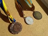 Набор из 3шт. медалей футбол, фото №3