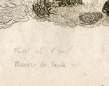 Старинная гравюра. Гибель капитана Кука. 28х17см, фото №6