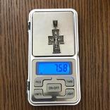 Хрест Срібло 925 проба. 7,58 грама., фото №4