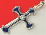 Крестик серебро 925 проба 3,45 грамма, фото №3