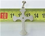 Крестик серебро 925 проба 3,45 грамма, фото №6