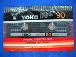 Аудиокассета YOKO в упаковке, фото №2