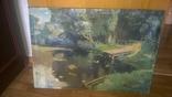 Картина, 76×52 см. копия картины Поленова В.Д., фото №2