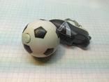 Брелок футбольный бутс с мячом. Свет (9.20), фото №5