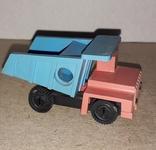Необычная Машинка Самосвал БелАЗ ,рабочая точилка для карандашей, СССР, фото №8