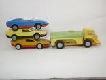 Три гоночные машинки СССР и Бензовоз, фото №5