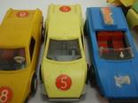 Три гоночные машинки СССР и Бензовоз, фото №8
