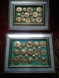 Две картины из античных монет, фото №3