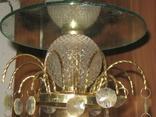 Винтажная люстра с зеркалом в ремонт, восстановление или назапчасти, фото №2