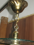 Винтажная люстра с зеркалом в ремонт, восстановление или назапчасти, фото №8