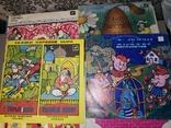 Пластинки со сказками 10 штук, фото №3
