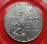 США 50 центов 1994 г Чемпионат мира по футболу 1994 года в США., фото №2