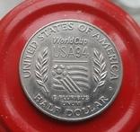 США 50 центов 1994 г Чемпионат мира по футболу 1994 года в США., фото №3