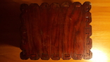 Деревянная шкатулка потомственной модистки. Пуговицы, пряжки,шпульки, крючки и пр. 1964 г, фото №8