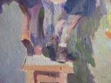 """В.Кнышевский.""""Снегири"""", х.м.,57*90см,1982г, фото №3"""