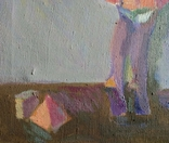 """В.Кнышевский.""""Снегири"""", х.м.,57*90см,1982г, фото №5"""