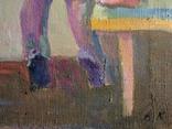 """В.Кнышевский.""""Снегири"""", х.м.,57*90см,1982г, фото №9"""