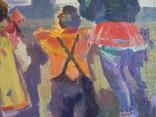 """В.Кнышевский.""""Снегири"""", х.м.,57*90см,1982г, фото №10"""