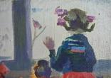 """В.Кнышевский.""""Снегири"""", х.м.,57*90см,1982г, фото №11"""