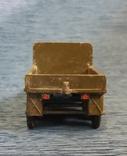 Грузовик военный металл клеймо ТПЗ СССР, фото №5