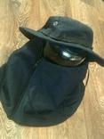 Черная шляпа - панама с шторкой (Usa), фото №6