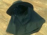 Черная шляпа - панама с шторкой (Usa), фото №11