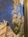 Иосиф Бокшай (младший) «Хатина в горах» 70х50, картон, масло 1976 г., фото №3