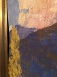 Иосиф Бокшай (младший) «Хатина в горах» 70х50, картон, масло 1976 г., фото №4
