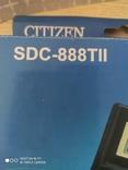 Калькулятор Citizen SDC-888TII Новый, фото №6