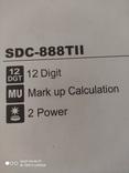 Калькулятор Citizen SDC-888TII Новый, фото №8