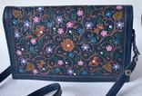 """Винтажная сумка из тисненой кожи """"Цветущий сад"""", фото №2"""