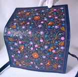 """Винтажная сумка из тисненой кожи """"Цветущий сад"""", фото №11"""