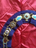 Нагрудная лента Старинного Королевского Ордена Буйволов, фото №5