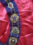 Нагрудная лента Старинного Королевского Ордена Буйволов, фото №7