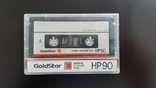 Касета GoldStar HP 90 (Release year: 1989-91), фото №2