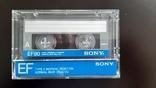 Касета Sony EF 90 (Release year 1986), фото №2