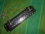 Сумочка на цепочке с позолоченным каркасом, фото №5