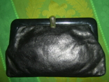 Клатч кожаный винтажный. с кожаной подкладкой 50- 60 е годы, фото №2