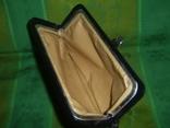 Клатч кожаный винтажный. с кожаной подкладкой 50- 60 е годы, фото №6