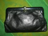 Клатч кожаный винтажный. с кожаной подкладкой 50- 60 е годы, фото №11