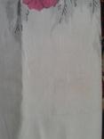 Простынь льняная с узорами новая, фото №6