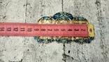 Серебряная икона триптих/ ДеИисус автомобильный, 925 + позолота, фото №4
