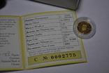 Золотая монета 2 гривны Лелека., фото №6