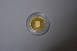 Золотая монета 2 гривны Лелека., фото №7