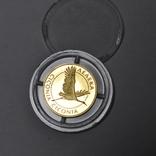 Золотая монета 2 гривны Лелека., фото №12