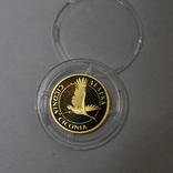 Золотая монета 2 гривны Лелека., фото №13