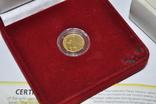 Золотая монета 2 гривны Скифское золото., фото №3