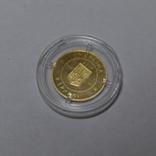 Золотая монета 2 гривны Скифское золото., фото №6